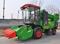 中国收获4YZ-3F1自走式玉米收获机