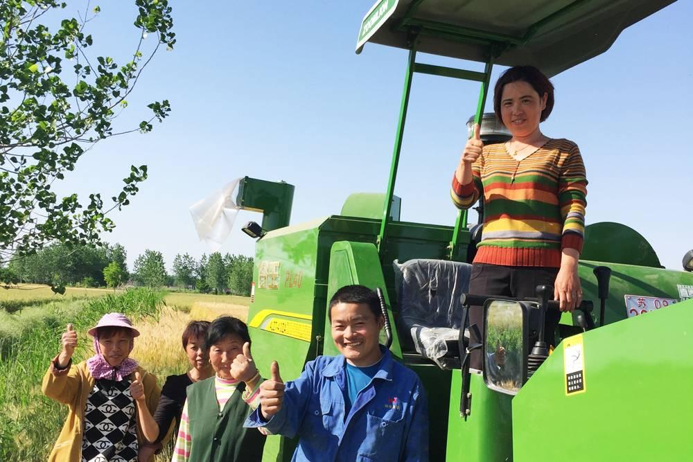 机手用户齐赞谷王-收得好-收得快-收得干净